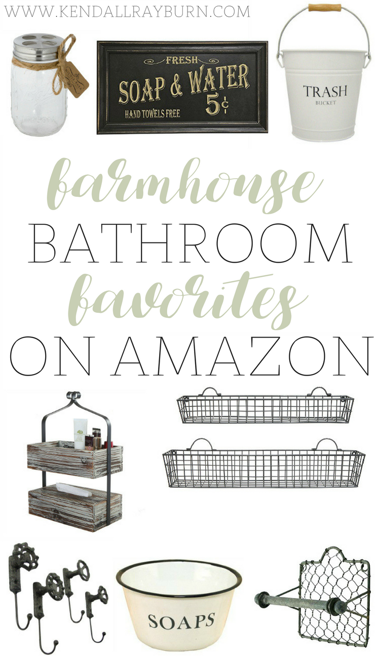 Farmhouse Bathroom Decor | Farmhouse Friday