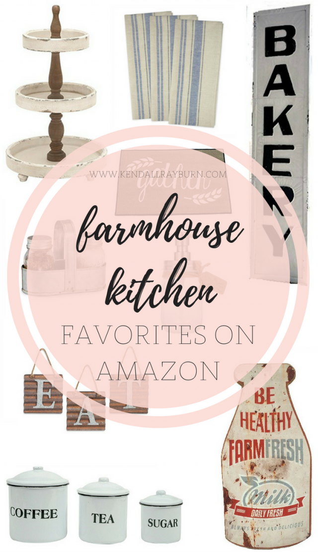 Farmhouse Kitchen Favorites