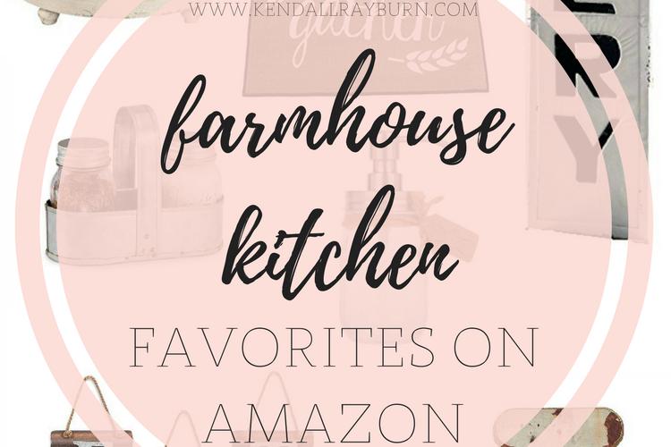 Farmhouse Friday | Farmhouse Kitchen Favorites + Giveaway!