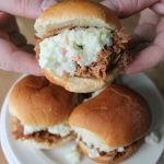 Slow Cooker BBQ Pulled Pork Sliders