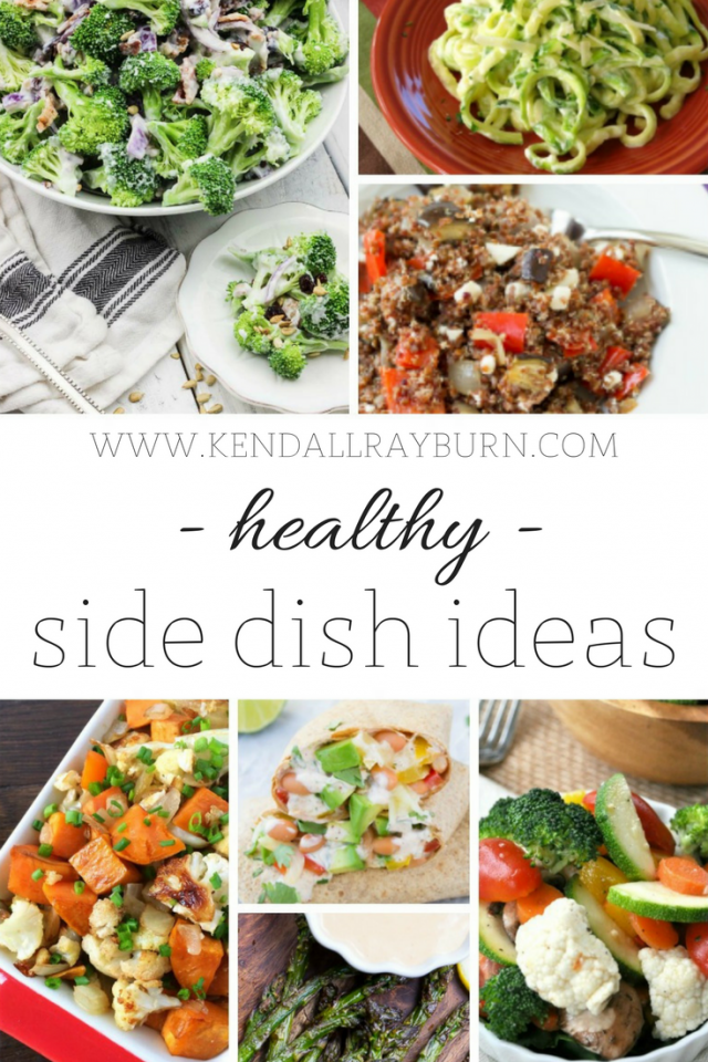 Healthy Side Dish Ideas
