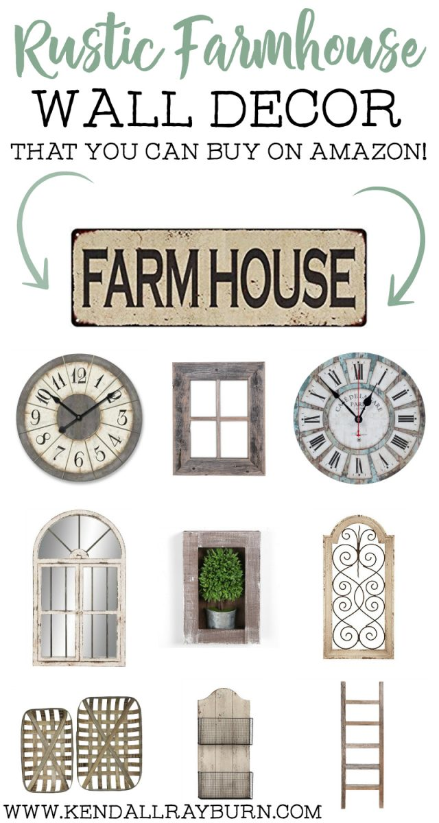 Rustic Farmhouse Wall Decor