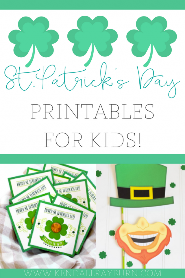 Free St.Patrick's Day Printables