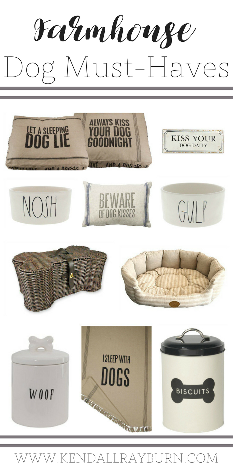 Farmhouse Dog Items | Farmhouse Friday