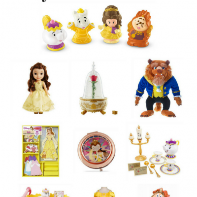 Beauty and the Beast Toys on Amazon