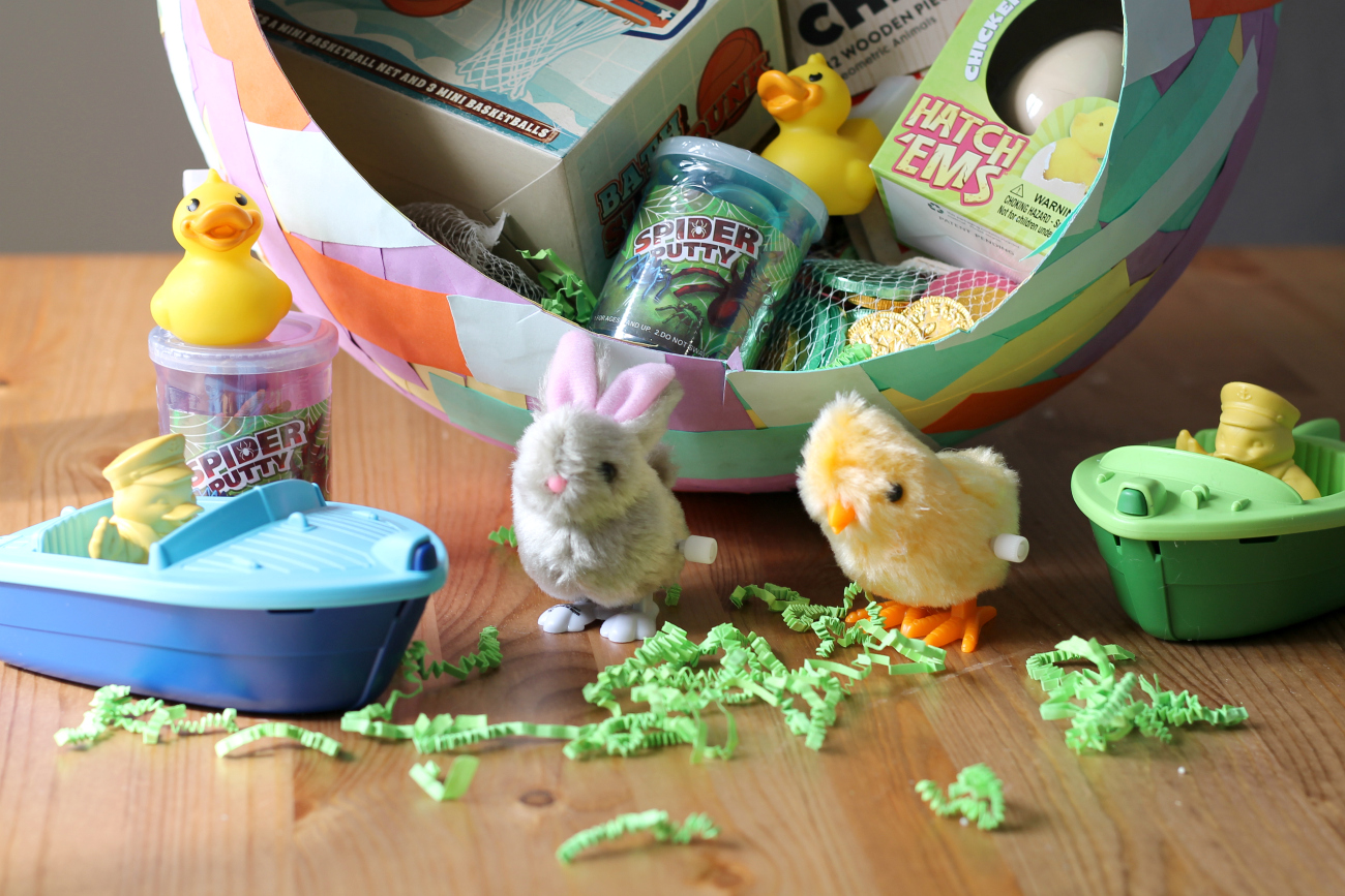 DIY Paper Mache Easter Egg Basket