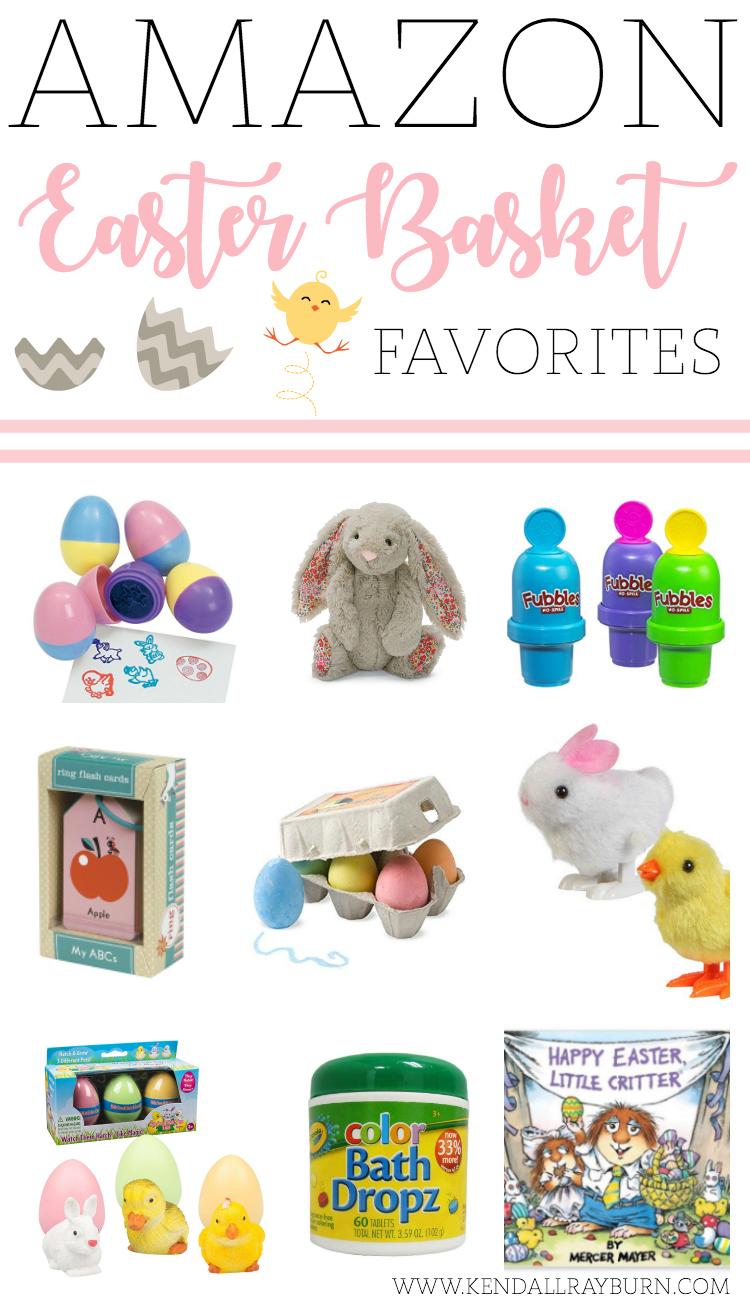Easter Basket Favorites on Amazon