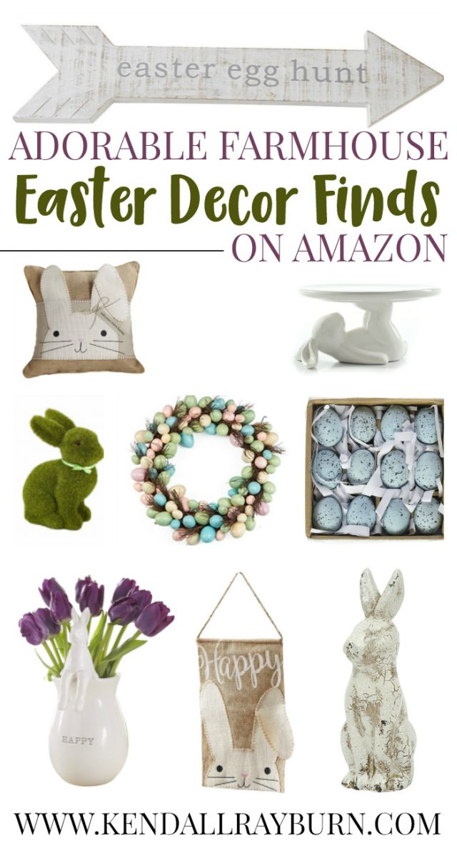 Farmhouse Easter Decor