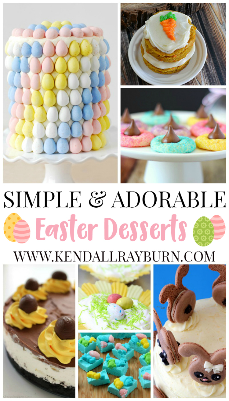 Simple & Adorable Easter Treats