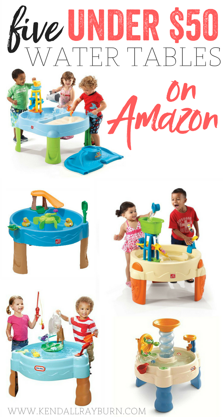 5 Under $50 Water Tables for Kids on Amazon!