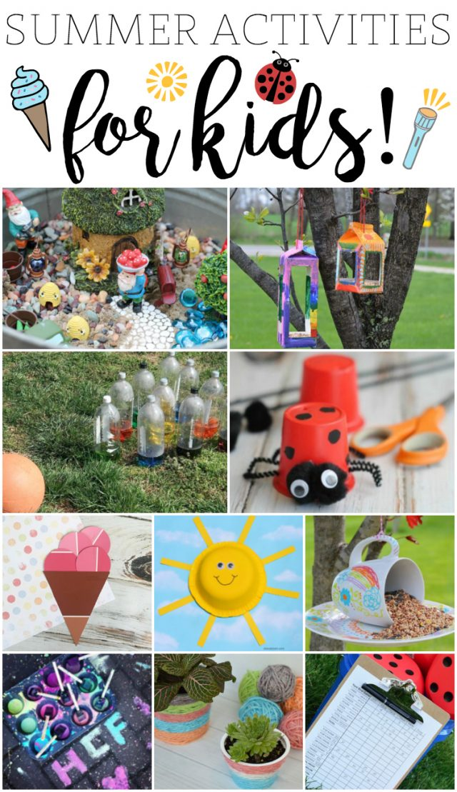 Fun Summer Activities for Kids!