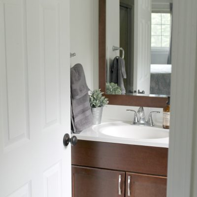 Comforting Bedroom & Bathroom Summer Updates
