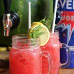 Mint Watermelon Lemonade Cocktail