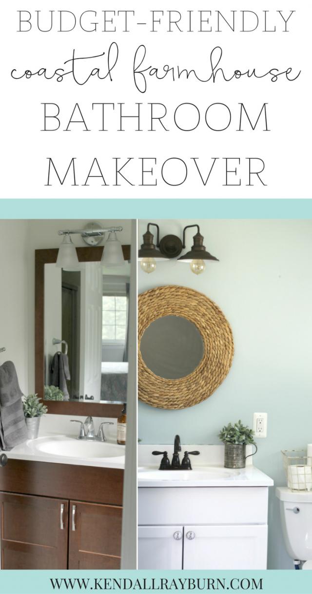 Budget-Friendly Small Bathroom Makeover