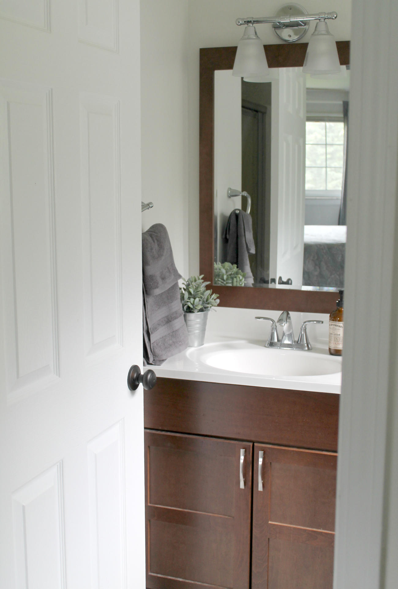 Cool Bathroom Before Small Bathroom Makeover With Bathroom Makeovers On A  Budget.