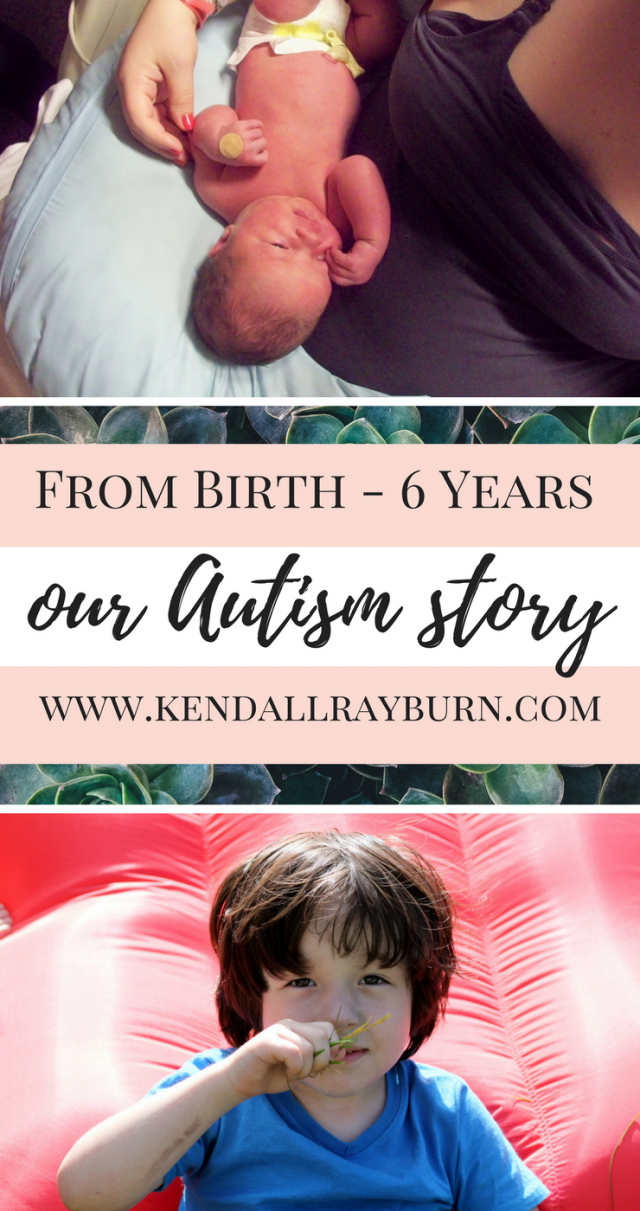From 0-6 Years, Our Autism Story