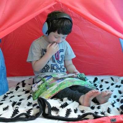 Autism | Creating a Self Calming Tent