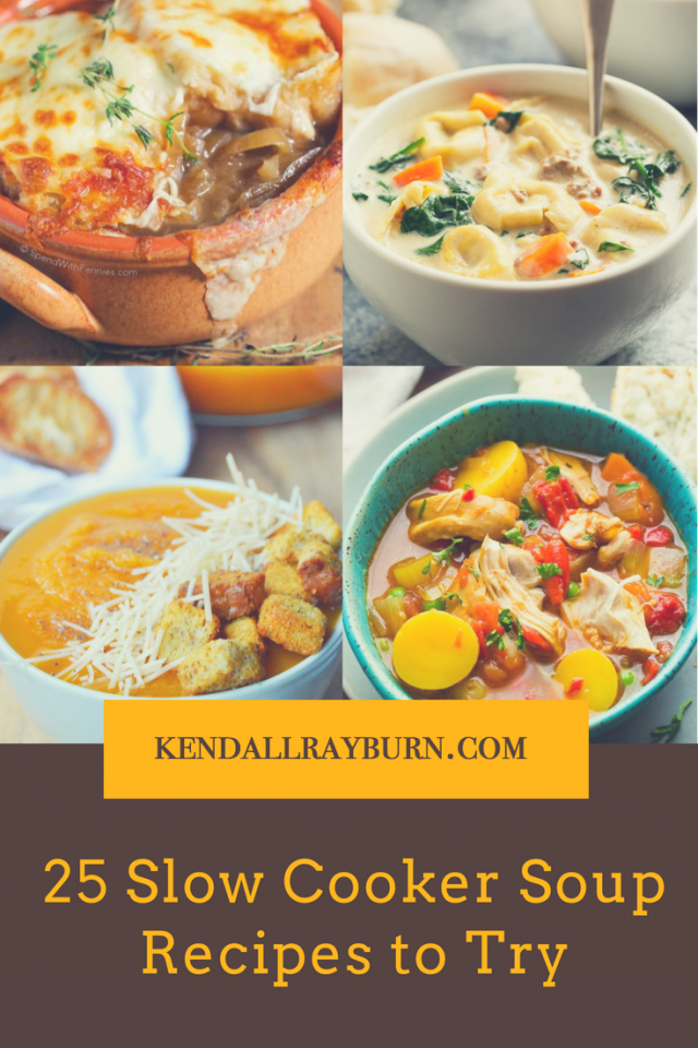 25 Slow Cooker Soups