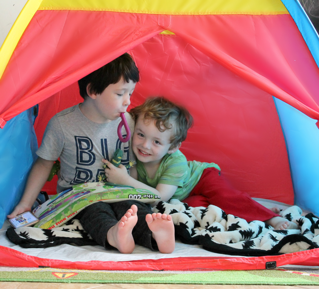 Creating a Self Calming Tent