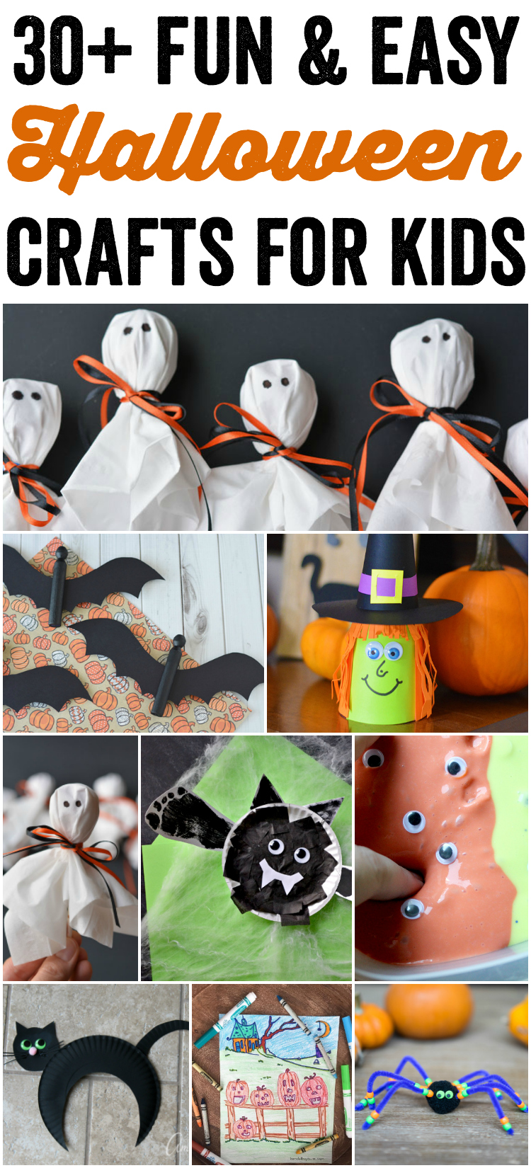 Fun And Easy Halloween Crafts For Kids