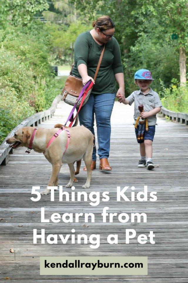 5 Things Kids Learn from Having a Pet