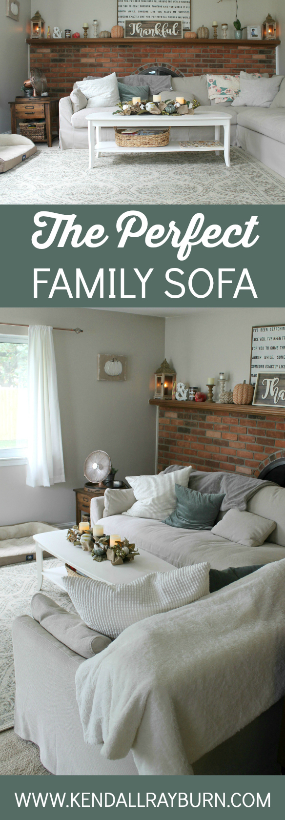 The Perfect Family Sofa