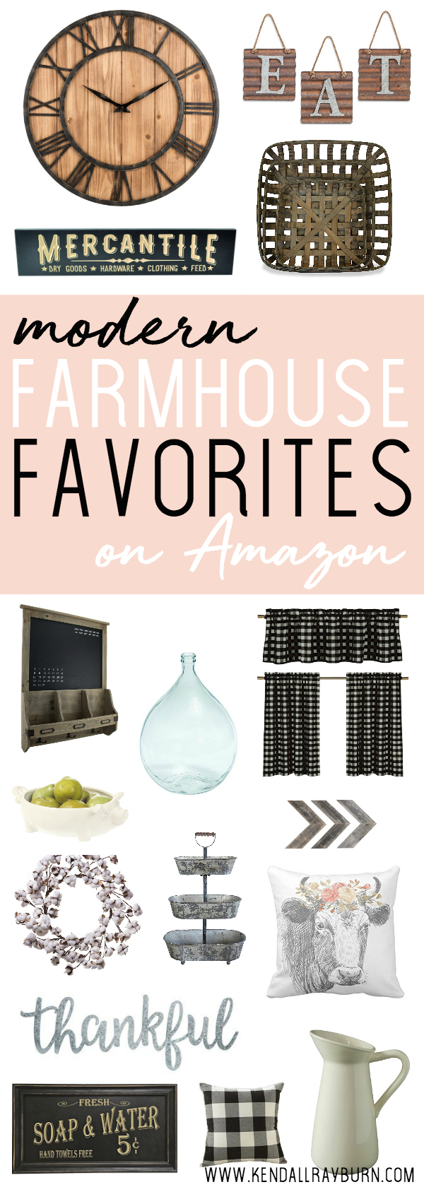 Modern Farmhouse Favorites On Amazon