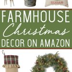 Farmhouse Christmas Decor on Amazon