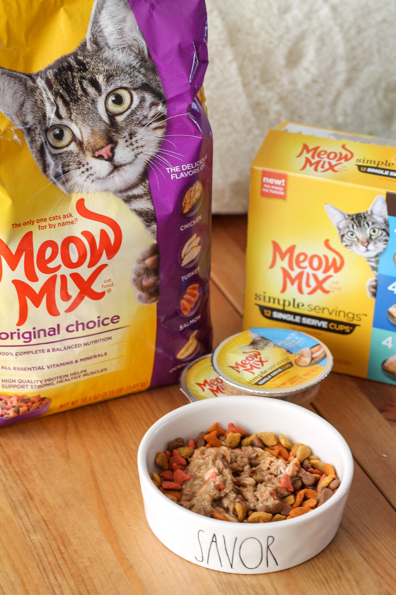 Meow Mix Cat Food How Many Servings