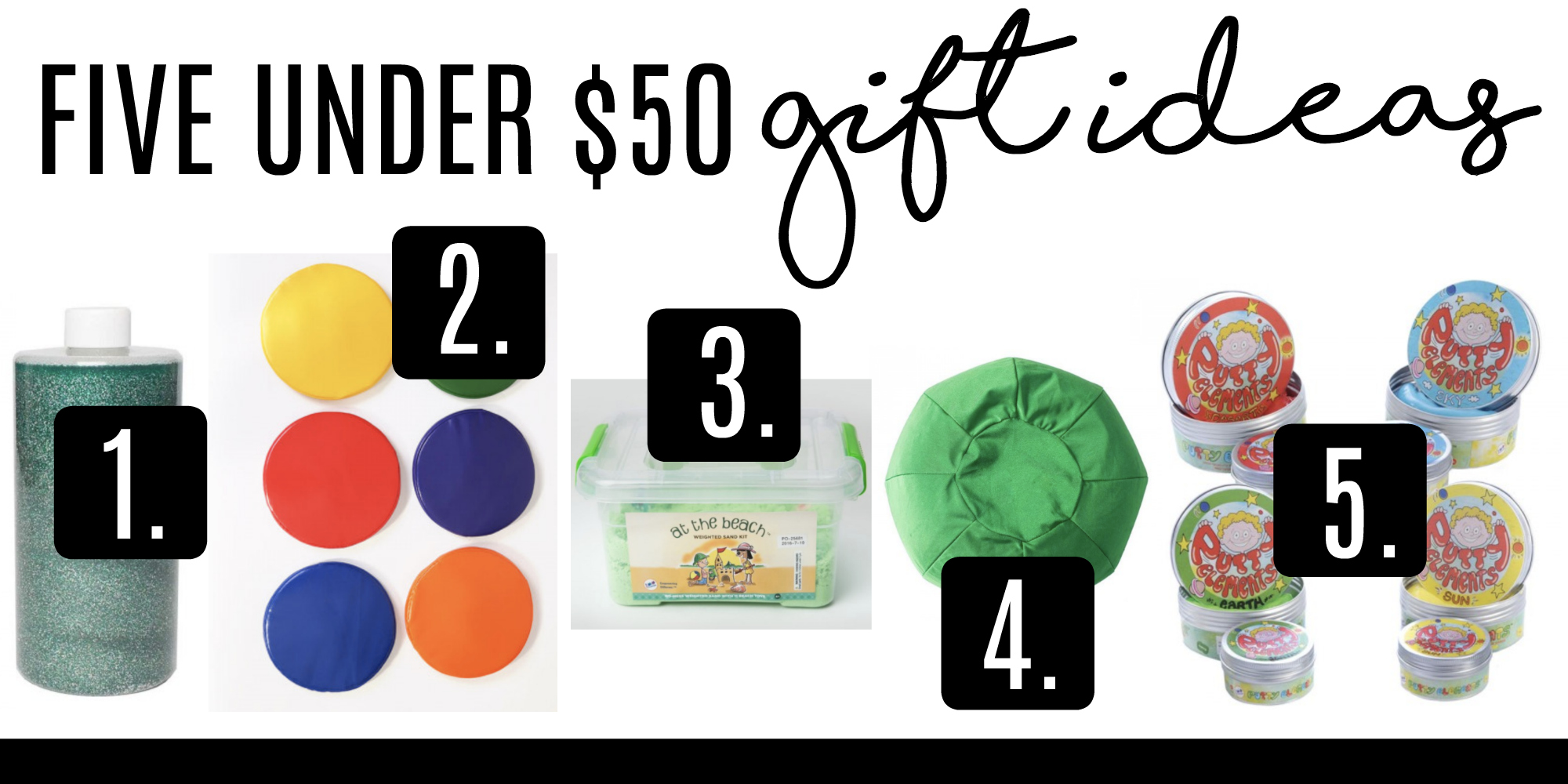 Autism: 5 Under $50 Gift Ideas