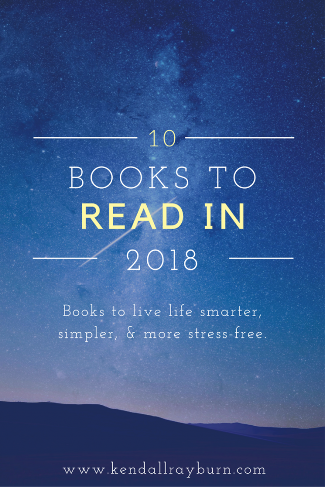 10 Books to Read in 2018