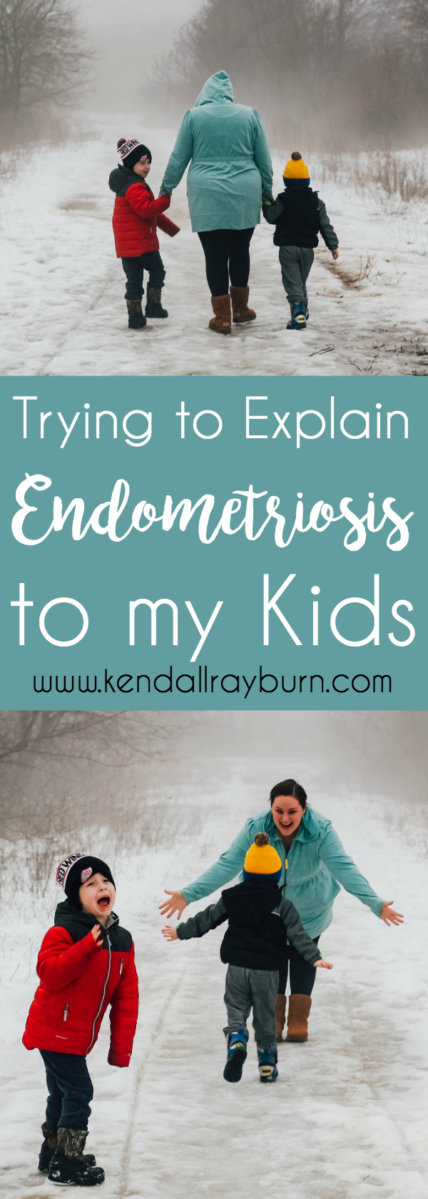 Trying to Explain Endometriosis to My Kids