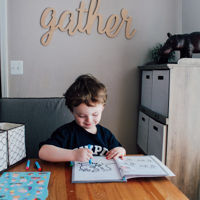 Creating a Kids Art Area on a Budget