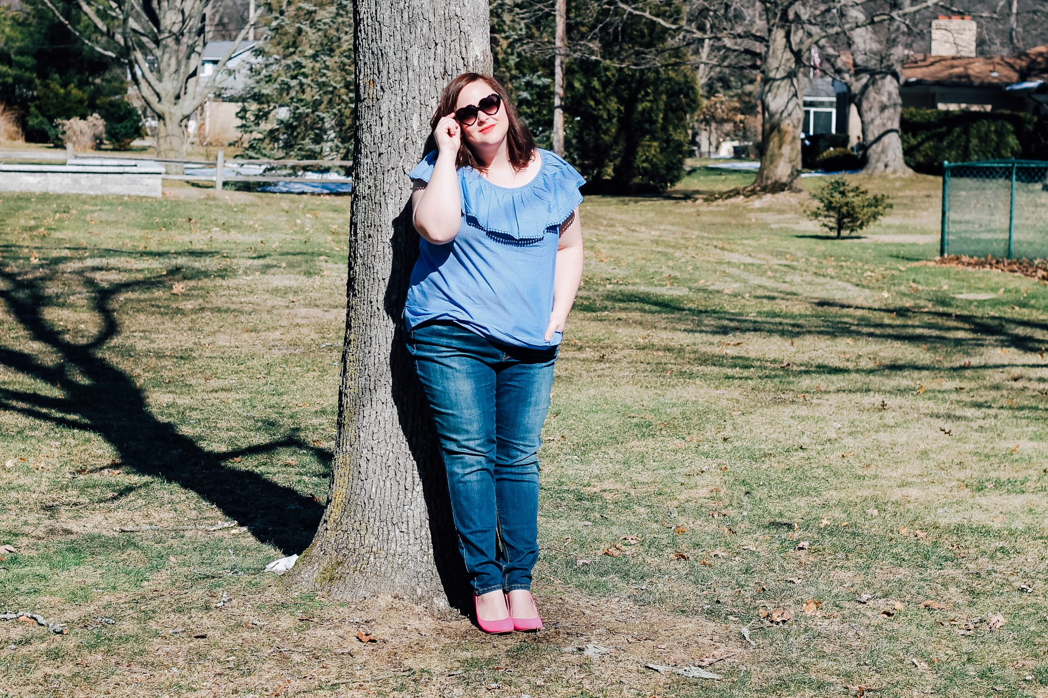 Plus Size Spring Style on a Budget