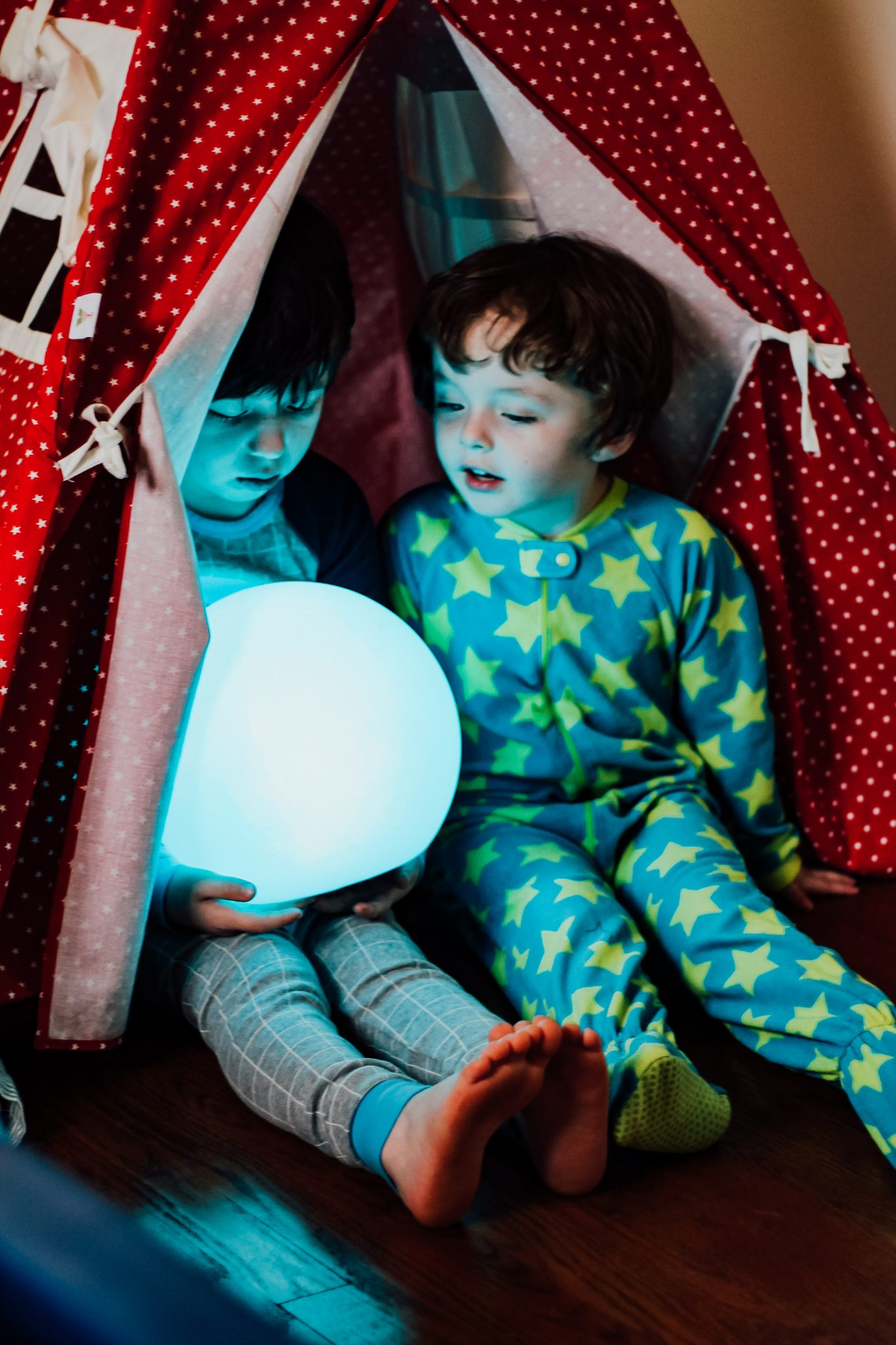 Autism: Using a Soothing LED Light for Bedtime