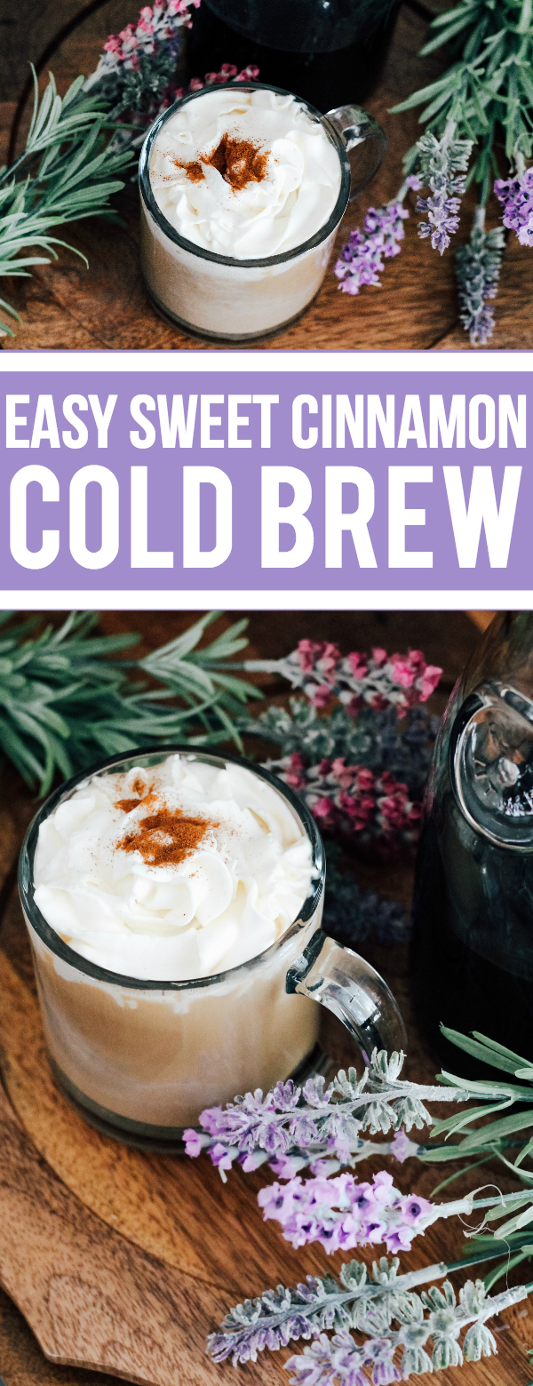 Easy Sweet Cinnamon Coconut Cold Brew