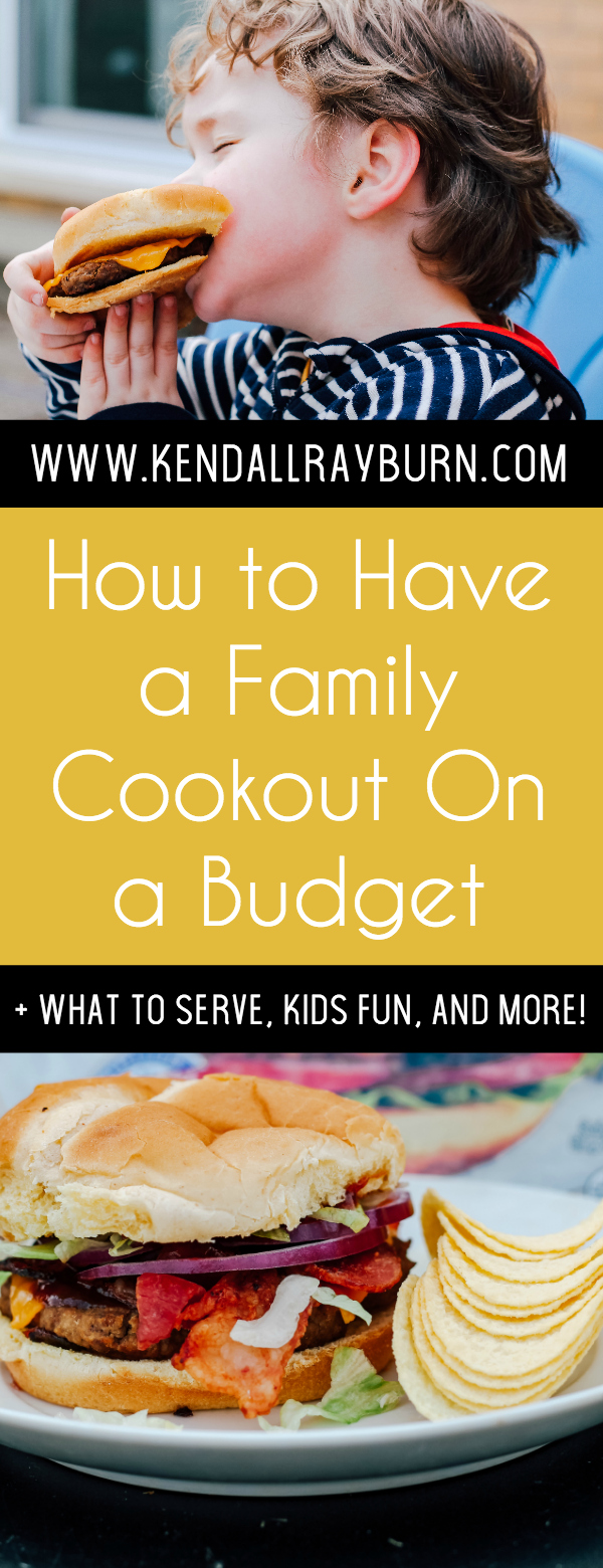 How to Have a Simple Family Cookout On a Budget