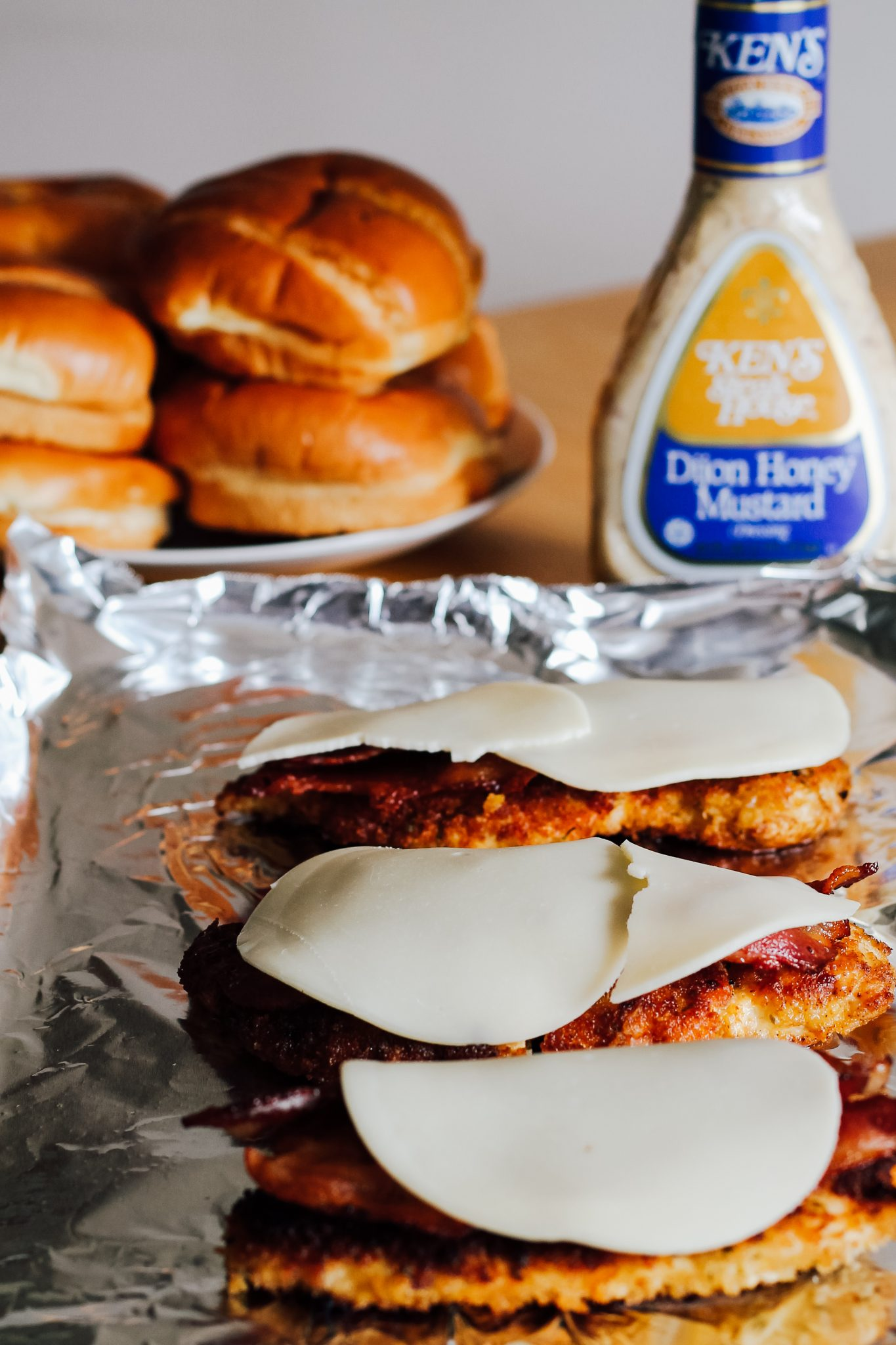 Dijon Honey Mustard Fried Chicken Sandwich