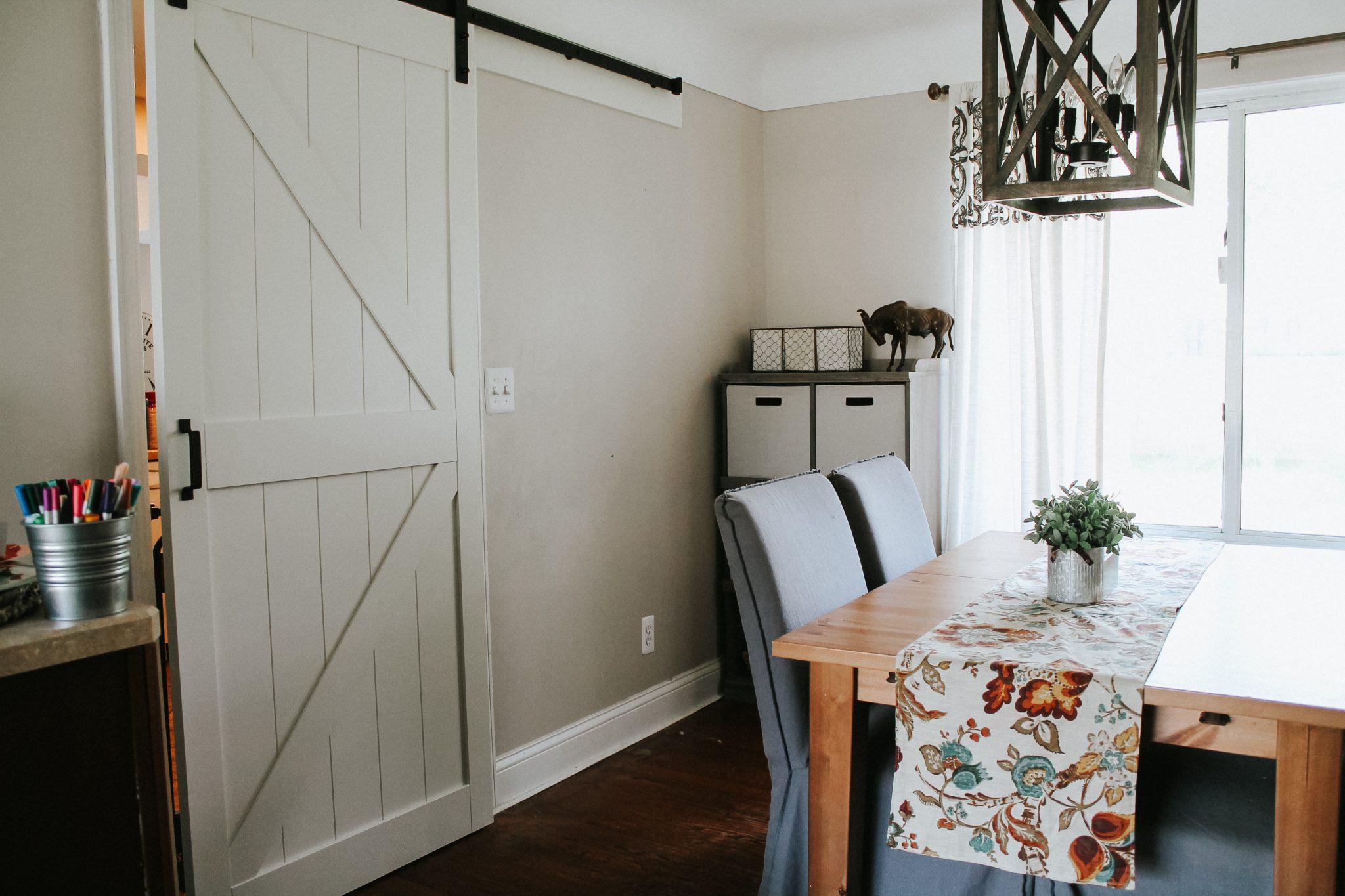 Adding a Barn Door to an Existing Doorway