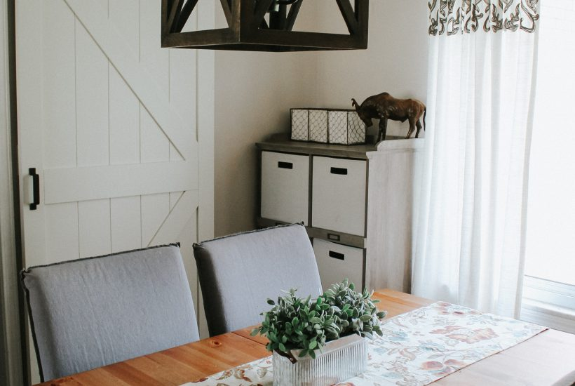 Farmhouse Style: Adding a Barn Door to an Existing Doorway