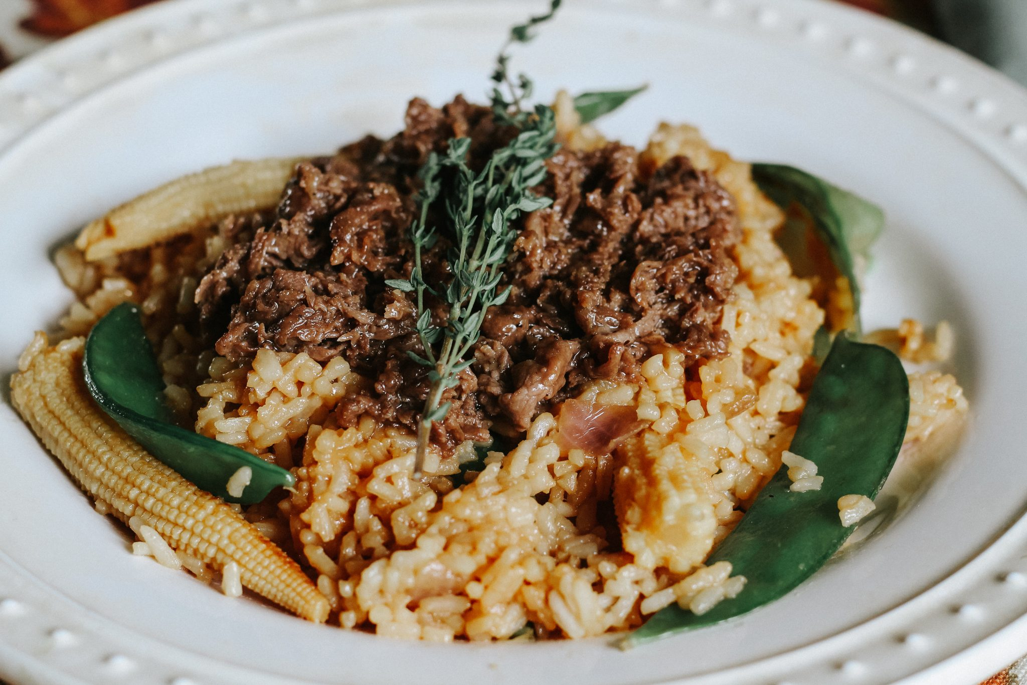 Asian Beef and Rice