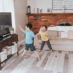 Living Room Makeover: DIY Flooring