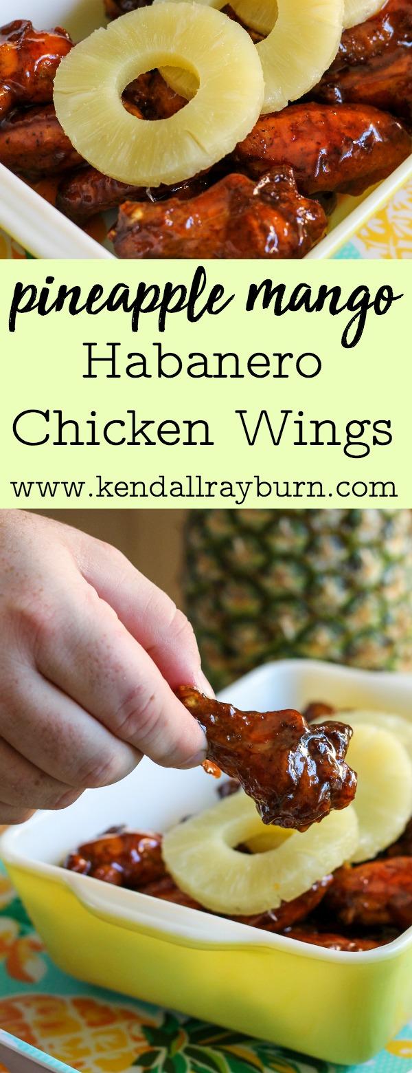 Pineapple Mango Habanero Chicken Wings
