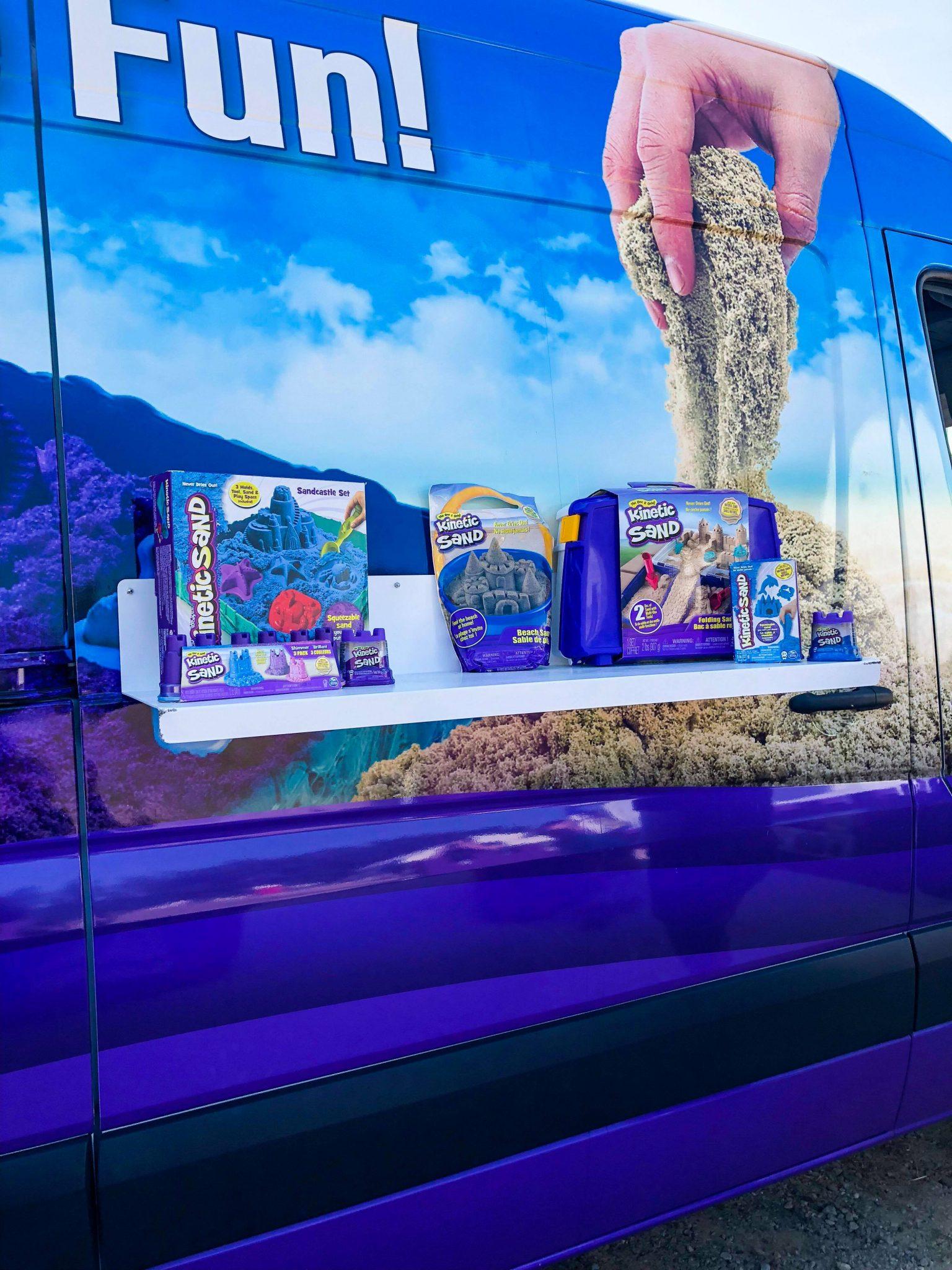 KineticSand'Feel the Fun' Van Tour