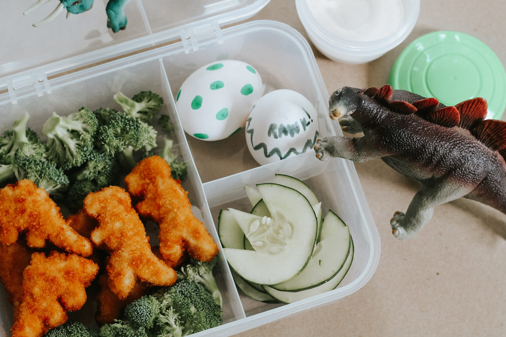 Easy Dinosaur Lunch for Kids