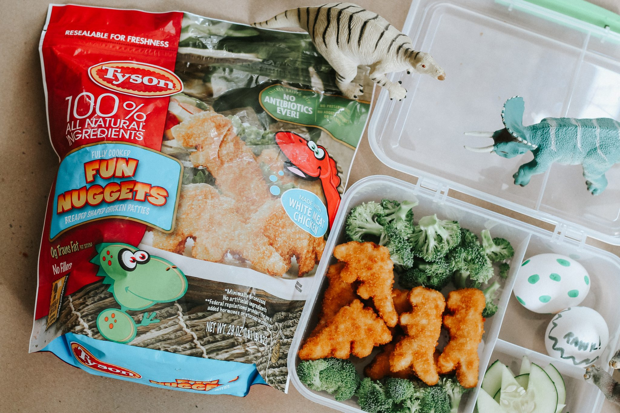 Easy Dinosaur Lunch for Kids