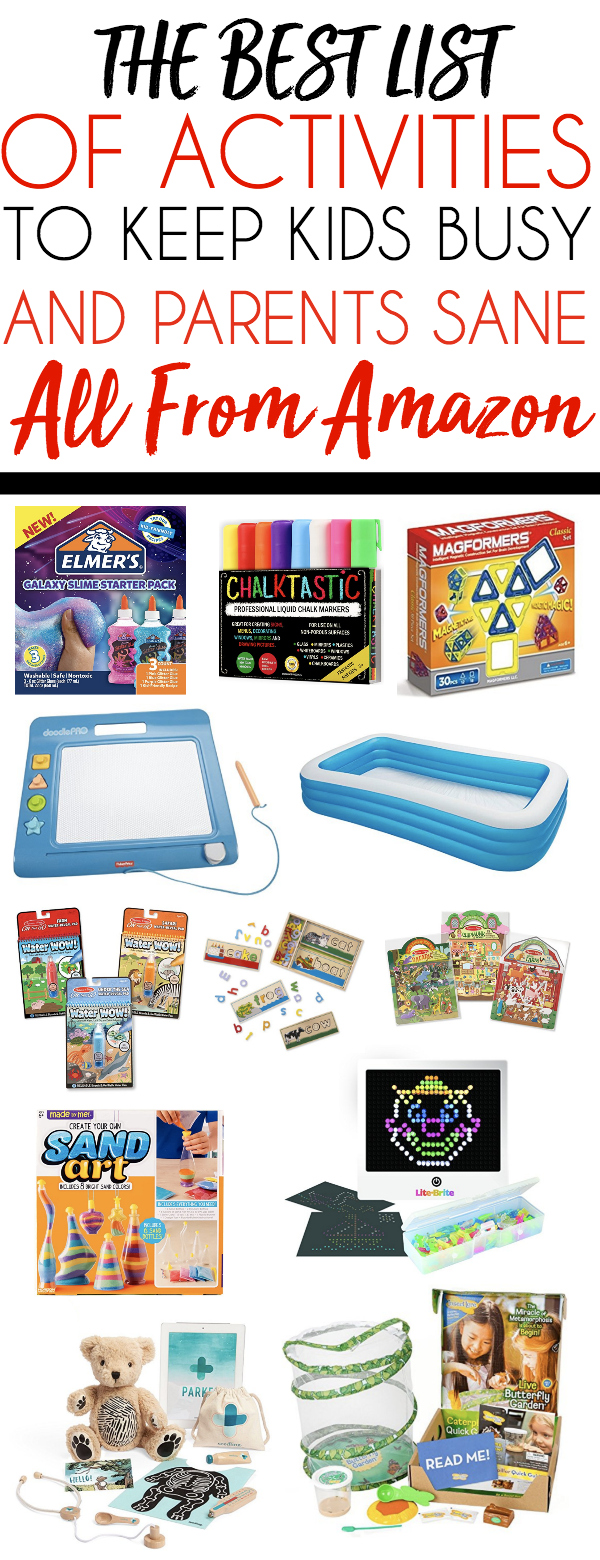 The Best Activities on Amazon to Keep Kids Busy
