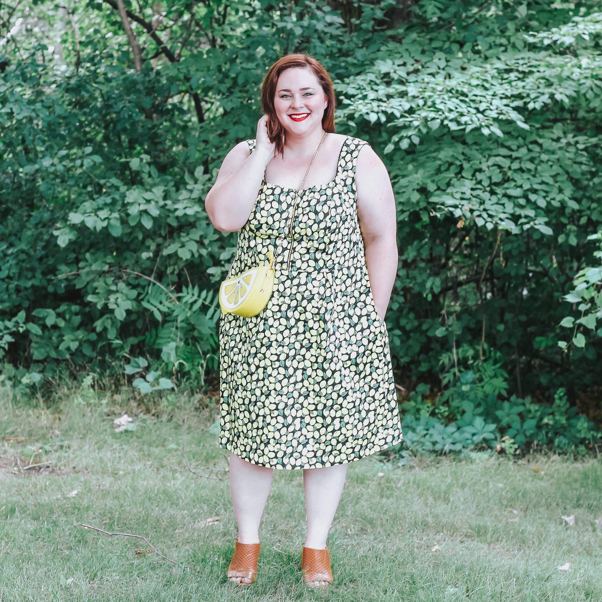 Plus Size Citrus Dresses