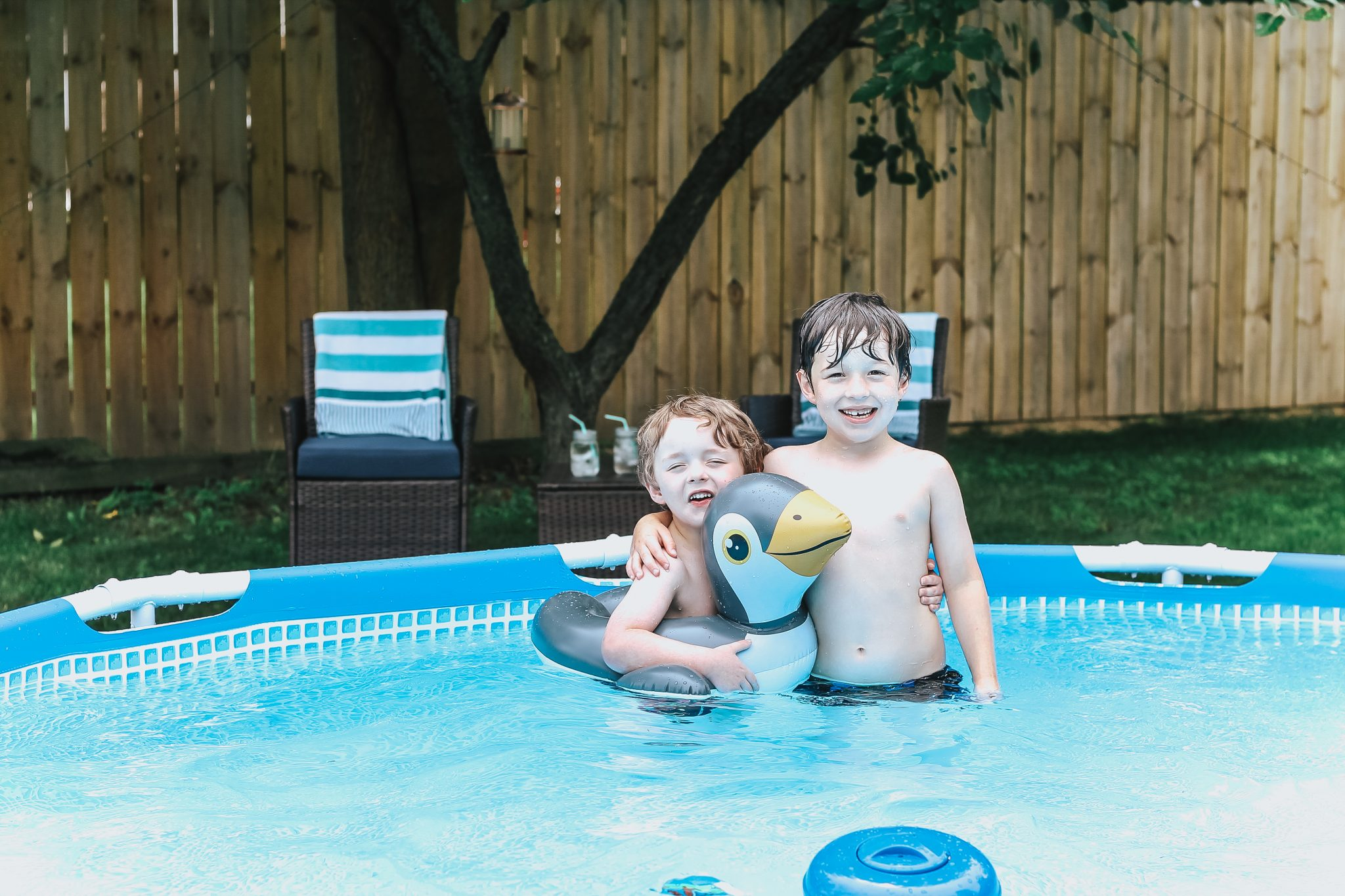 Creating a Backyard Family Oasis