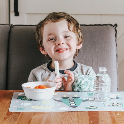 Creating an Easy After School Snack Station